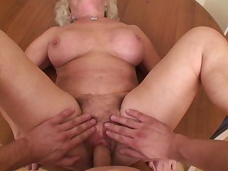 Effie with giant boobs gets stuffed hard and deep by horny guy