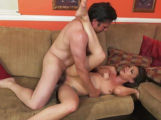 Anthony Rosano gets turned on by Olivia Wilder and then drills her mouth