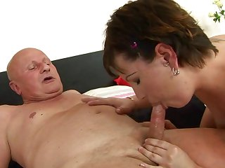 Teen kitty blows the sticky nectar out of schlong