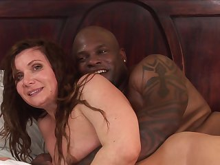 Milf Alyssa Branch and hot guy Joey Brass are in the mood for fucking