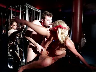 James Dean gets down on her knees to gives throat job to handsome guy