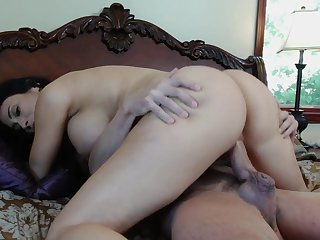 Redhead Sheila Marie can't stop sucking in steamy oral action with hard dicked fuck buddy Will Powers