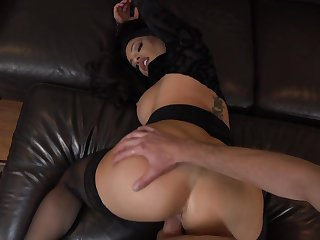Milf is curious about oral sex with hard cocked dude