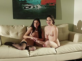 Redhead Julia Ann is in sexual ecstasy with Jenna J Ross