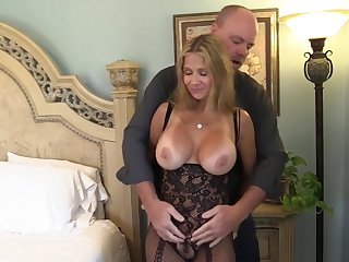 Wife Rio Bodystocking Fuck &amp, Suck!